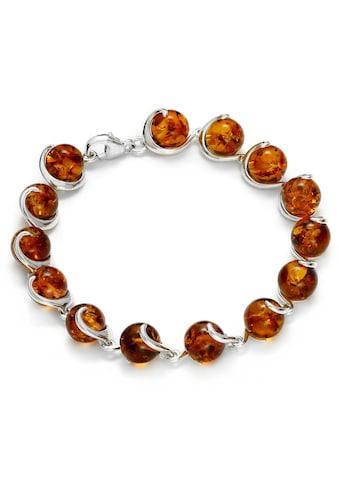 OSTSEE-SCHMUCK Armband »- Nikola - Silber 925/000 - Bernstein« kaufen
