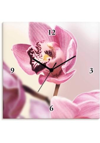 Artland Wanduhr »Rosa Orchidee« kaufen