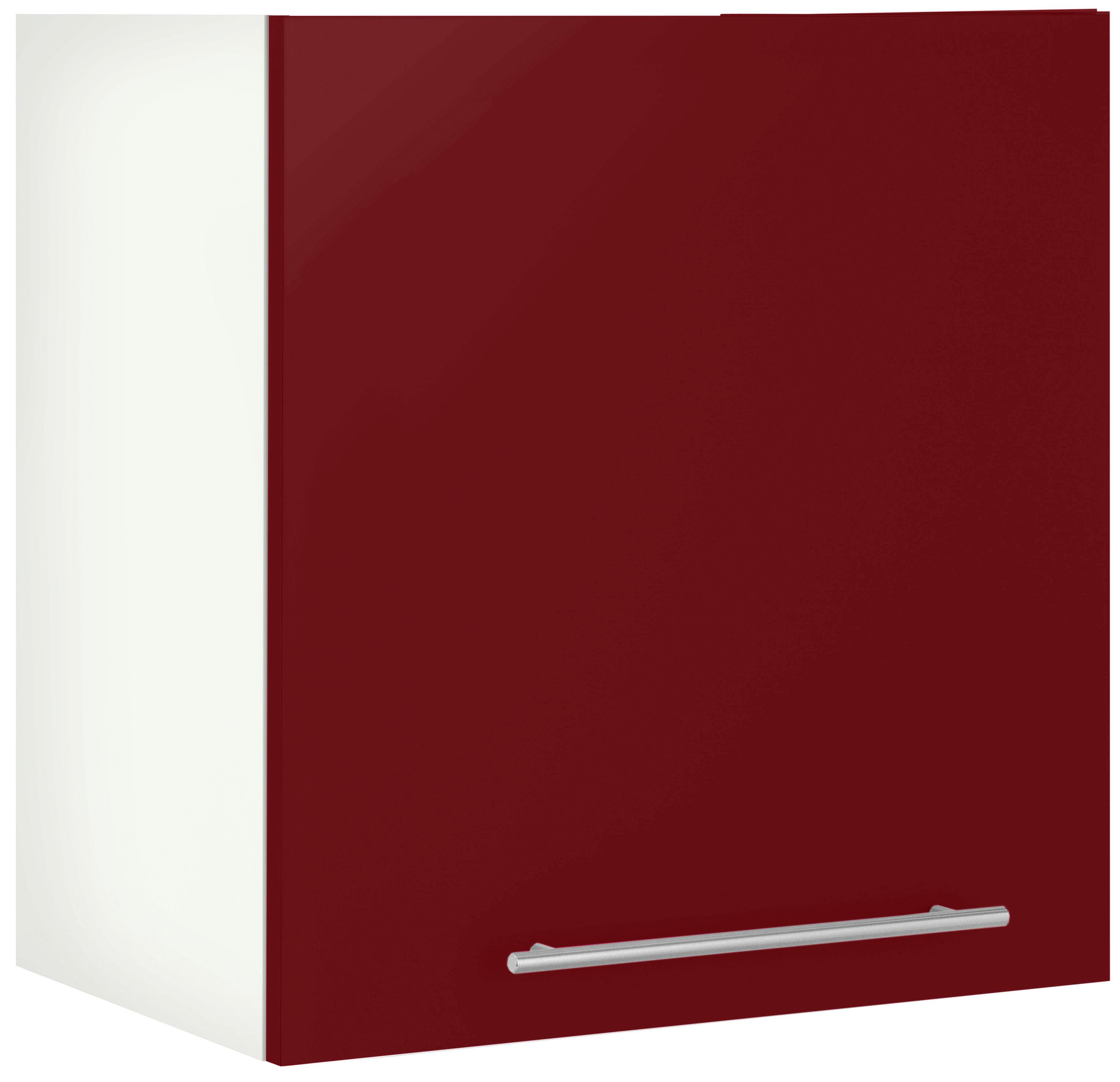 WIHO-Küchen Hängeschrank Flexi2 Breite 60 cm | Küche und Esszimmer > Küchenschränke > Küchen-Hängeschränke | Rot | Melamin | Wiho Küchen
