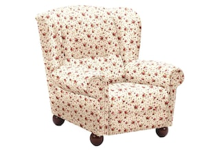 max winzer ohrensessel malm mit holz kugelf en kaufen baur. Black Bedroom Furniture Sets. Home Design Ideas