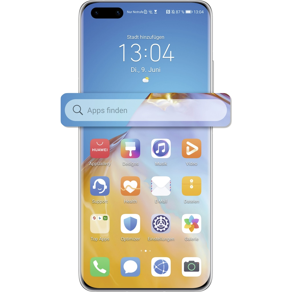 "Huawei Smartphone »P40 Pro«, (16,7 cm/6,58 "" 256 GB Speicherplatz, 50 MP Kamera)"