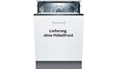 Constructa vollintegrierbarer Geschirrspüler, 12 Liter, 12 Maßgedecke kaufen