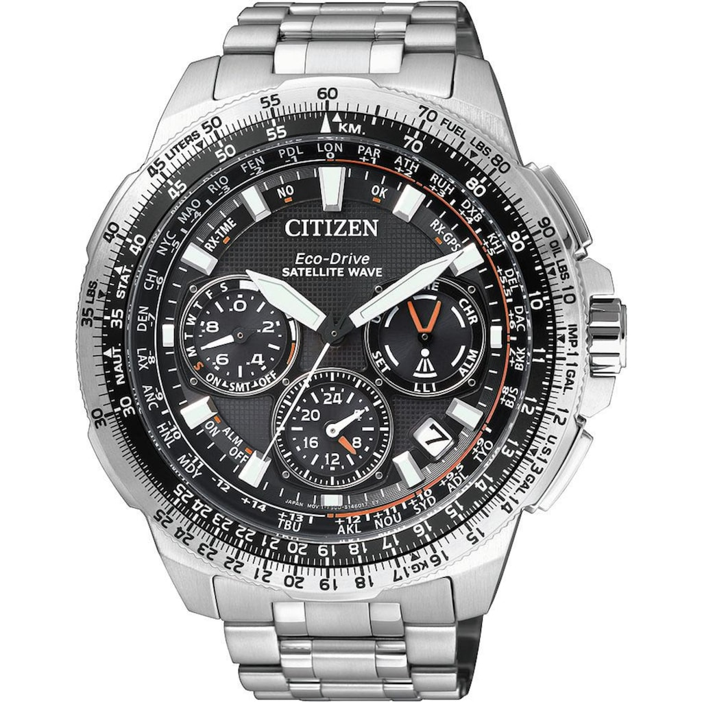 Citizen Funkchronograph »CC-9020-54E«, mit Satellite Timekeeping System