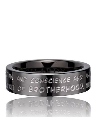 Gilardy Ring »Edelstahl PVD grau« kaufen