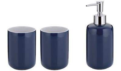 KELA Set: Bad - Accessoire - Set »Isabella«, Keramik, 3tlg. kaufen