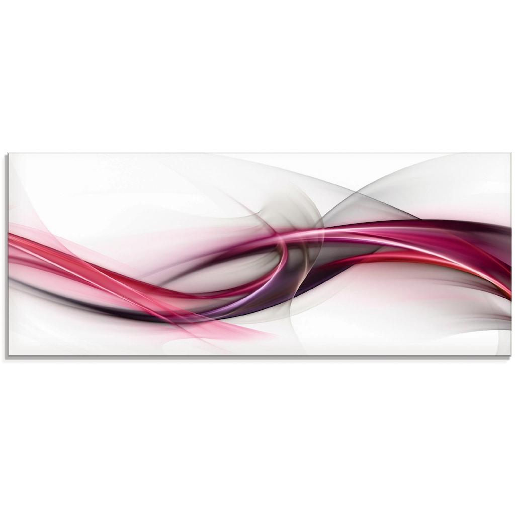 Artland Glasbild »Ideen«, Muster, (1 St.)