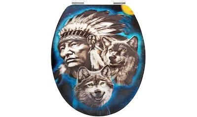 CORNAT WC-Sitz »Howling Wolf«, 3D - Wechselmotiv kaufen