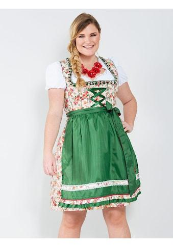 Sara Lindholm by HAPPYsize Dirndl mit kontrastfarbener Schürze kaufen