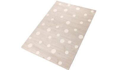 Teppich, »Pünktchen«, Living Line, rechteckig, Höhe 12 mm, maschinell gewebt kaufen