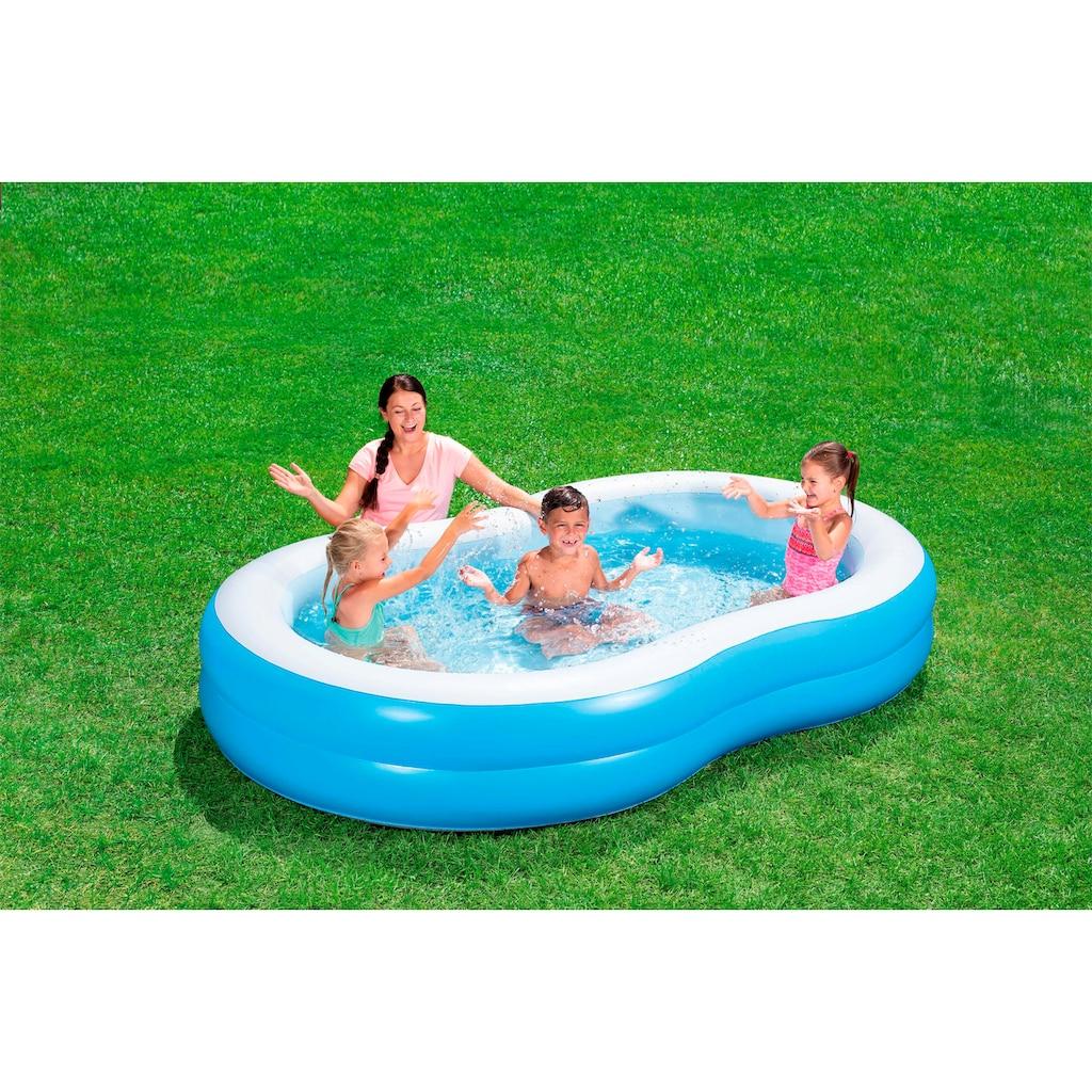Bestway Planschbecken »Family Pool Lagune«, BxTxH: 157x262x46 cm
