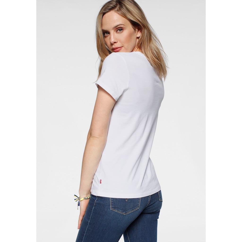 Levi's® T-Shirt »The Perfect Tee Pride Edition«, Print in Regenbogenfarben