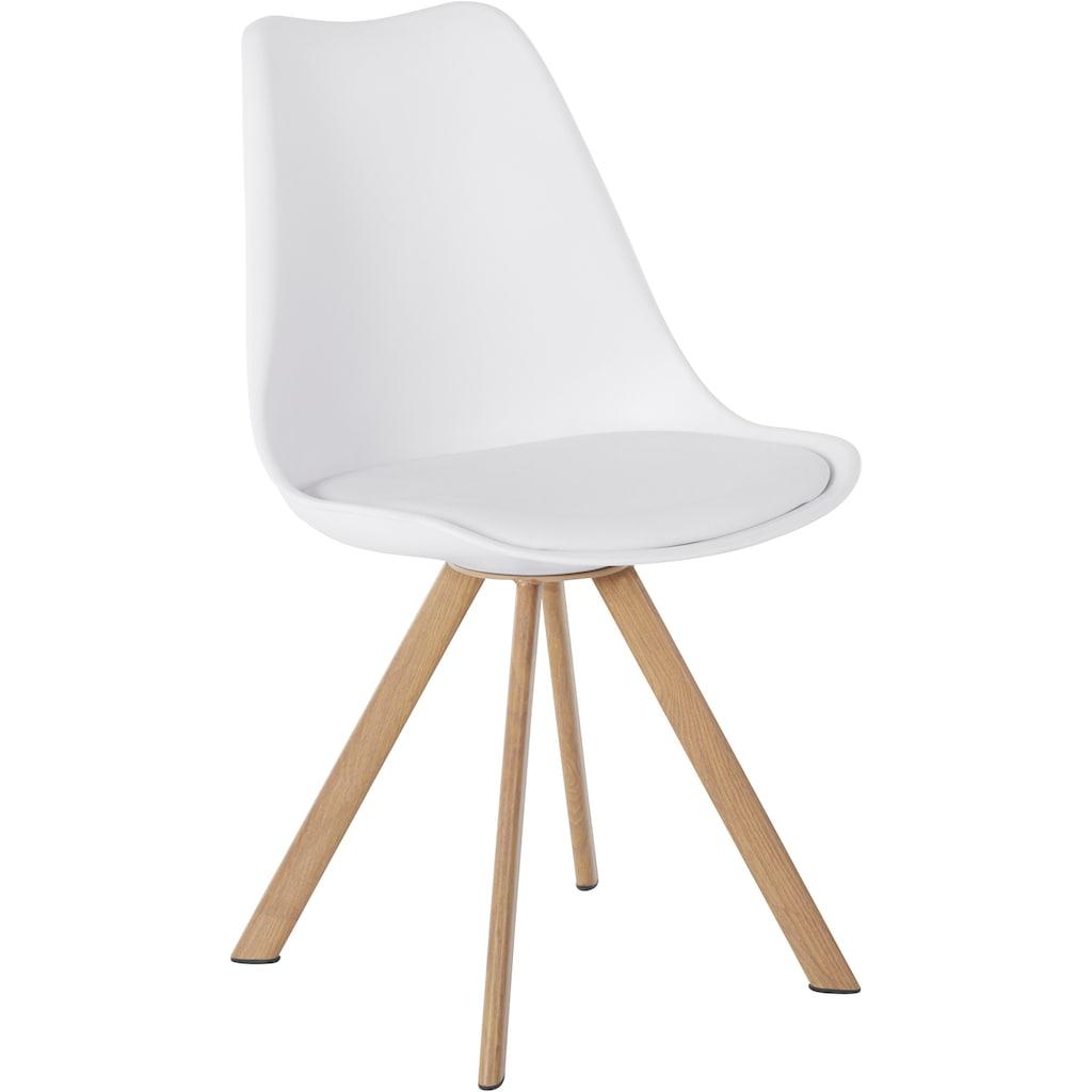 INOSIGN Essgruppe »Levent«, (Set, 5 tlg.), bestehend aus 4 Lazio Stühlen und dem Cody Tisch