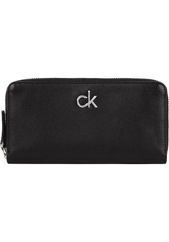 Calvin Klein Geldbörse »RE - LOCK Z/A WALLET LG« kaufen