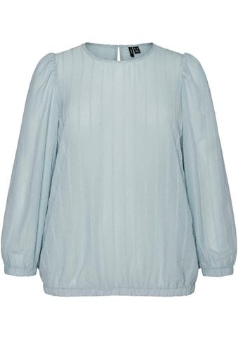Vero Moda Curve Klassische Bluse, mit schimmernden Streifen kaufen