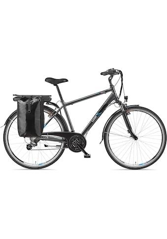 Telefunken E-Bike »Expedition XT481«, 21 Gang, Shimano, Altus, Heckmotor 250 W, mit Fahrradtasche kaufen