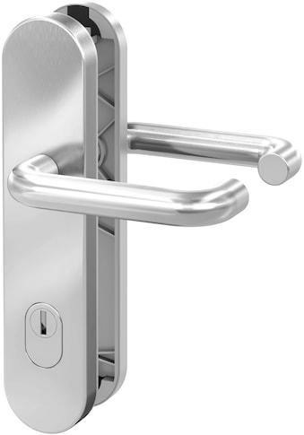BASI Sicherheitsbeschlag »Edelstahl Haustürbeschlag«, SB 7200, Drücker mit Zylinderabdeckung kaufen