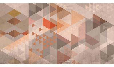 ARCHITECTS PAPER Fototapete »Atelier 47 Vintage Triangle 1«, geometrische 3D - Optik kaufen