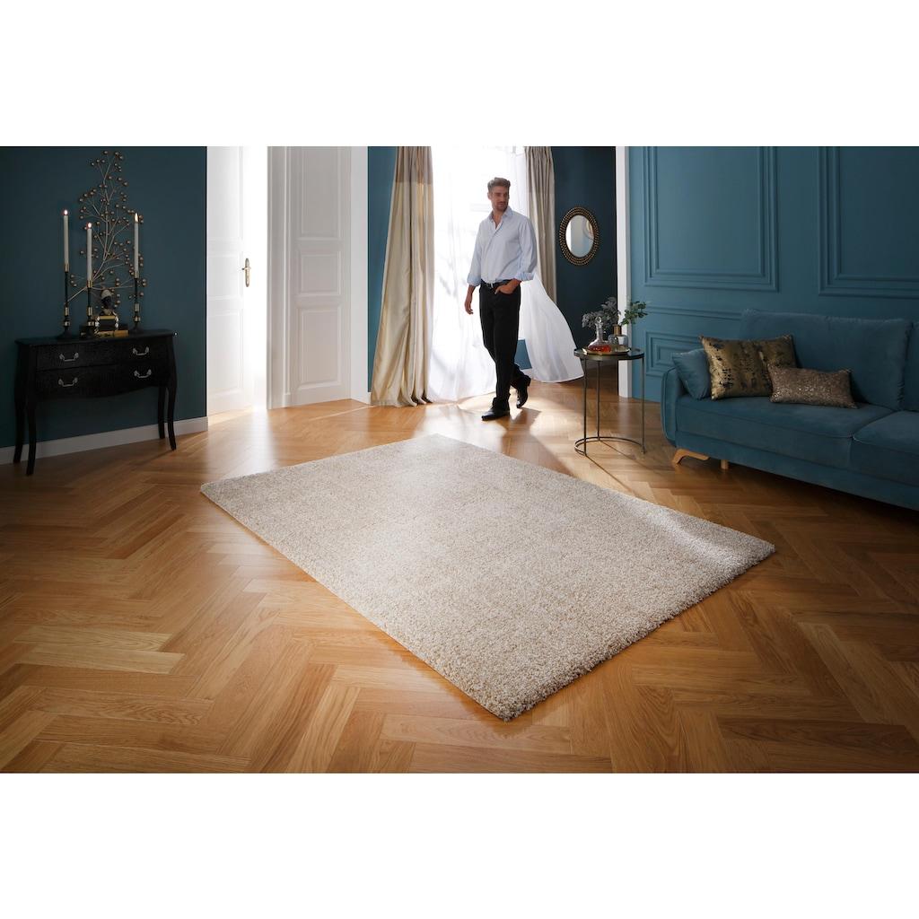 Hochflor-Teppich, »Rom«, Guido Maria Kretschmer Home&Living, rechteckig, Höhe 40 mm, maschinell gewebt