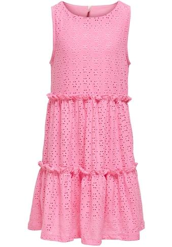 KIDS ONLY Sommerkleid »KONLINA«, mit kleinen Rüschen kaufen