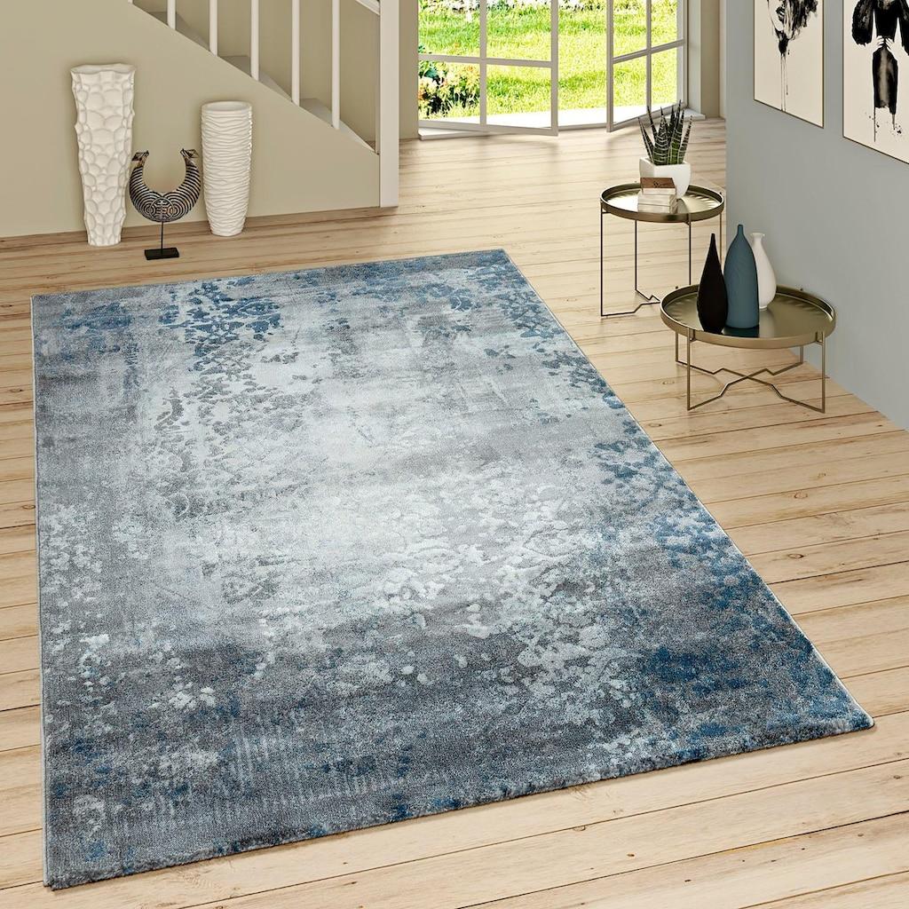 Paco Home Teppich »Victory 608«, rechteckig, 16 mm Höhe, Kurzflor, Wohnzimmer