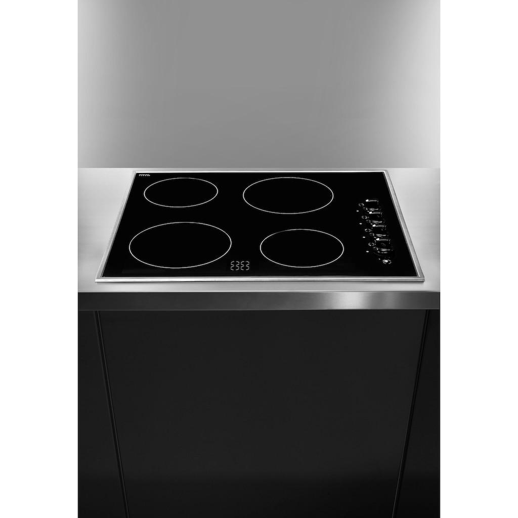 Amica Elektro-Kochfeld von SCHOTT CERAN®, KMC 13282 E, Seitliche Knebelsteuerung