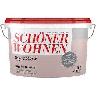 Schöner Wohnen Farbe Wand Und Deckenfarbe My Colour My Blossom