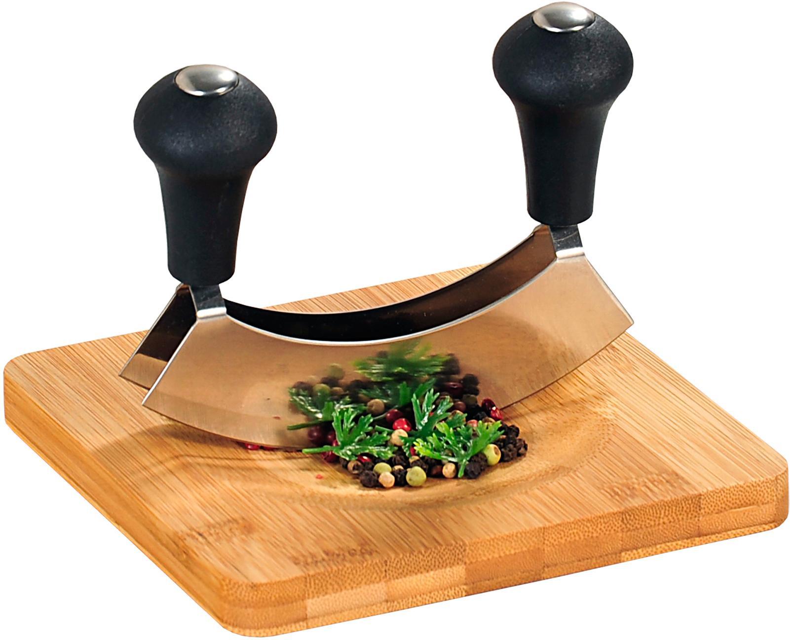 KESPER for kitchen & home Kräuterschneidebrett Bambus Preisvergleich