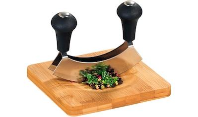 KESPER for kitchen & home Kräuterschneidebrett Bambus kaufen