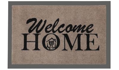 HANSE Home Fußmatte »Welcome Home«, rechteckig, 7 mm Höhe, Schmutzfangmatte, mit Spruch kaufen