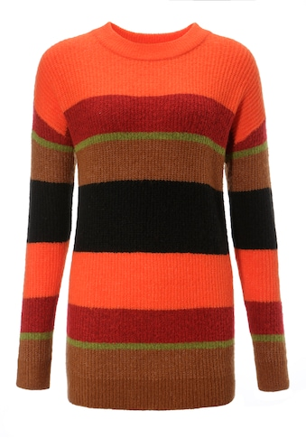 Aniston CASUAL Rundhalspullover, im Colorblocking - NEUE KOLLEKTION kaufen
