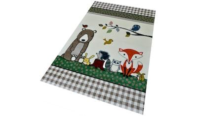 Kinderteppich, »Diamond Kids 485«, merinos, rechteckig, Höhe 13 mm, maschinell gewebt kaufen