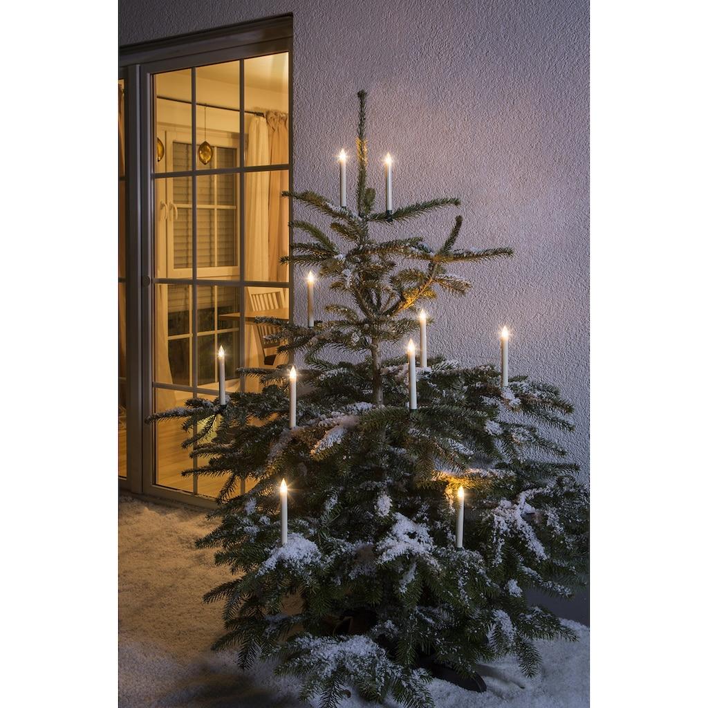 KONSTSMIDE LED Baumbeleuchtung, 5 kabellose Kerzen, Zusatzset