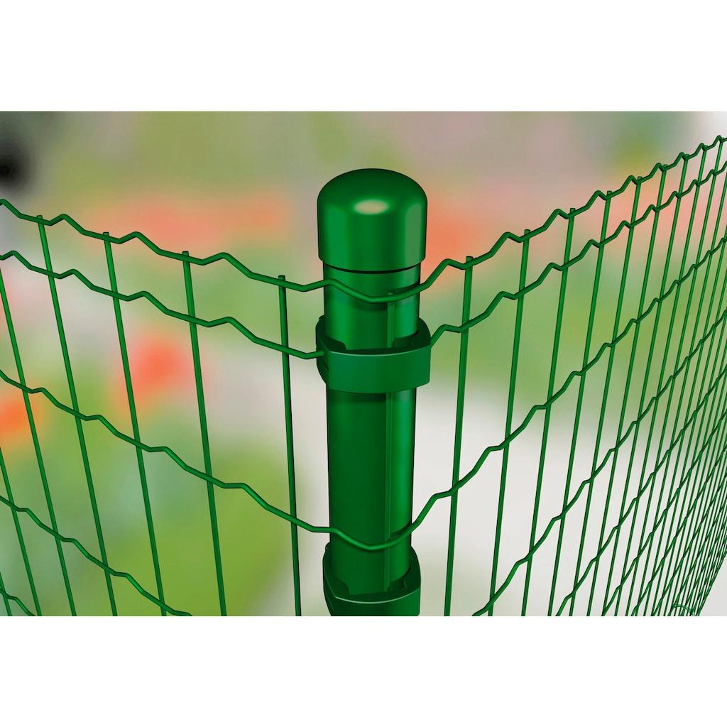 GAH Alberts Zaunpfosten »Verbinder Fix-Clip Pro®«, 1-seitig für Pfosten Ø 6 cm
