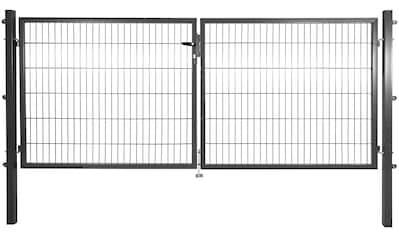 Zaun - Doppeltür , LxH: 3x1,2 m, anthrazit kaufen