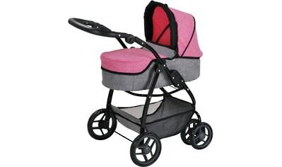 "Knorrtoys® Puppenwagen ""Coco  -  jeans pink"" kaufen"
