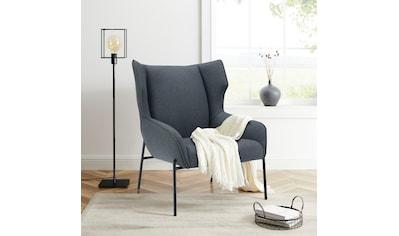 andas Polsterstuhl »Livby Chair«, Design by Morten Georgsen, Ohrensessel, Gestellfarbe Ton-in-Ton mit dem Polsterstoff kaufen