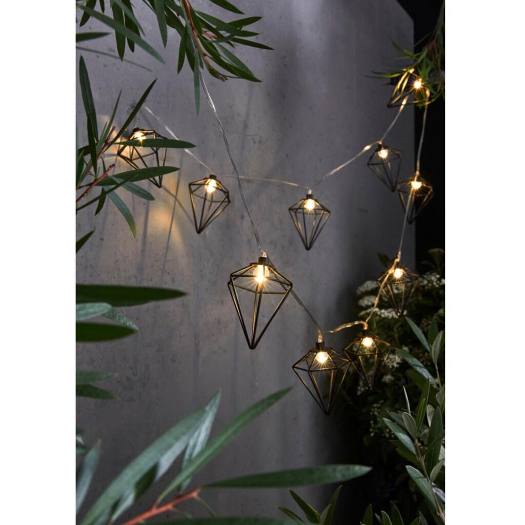 LED-Lichterkette »Akita«, 10 St.-flammig