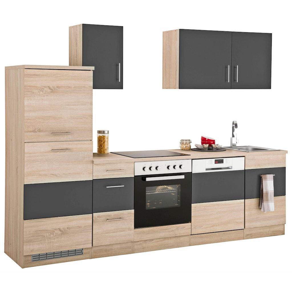 HELD MÖBEL Küchenzeile »Perth«, ohne E-Geräte, Breite 270 cm