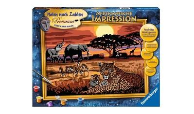Ravensburger Malen nach Zahlen »Afrikanische Impression«, Made in Europe, FSC® -... kaufen