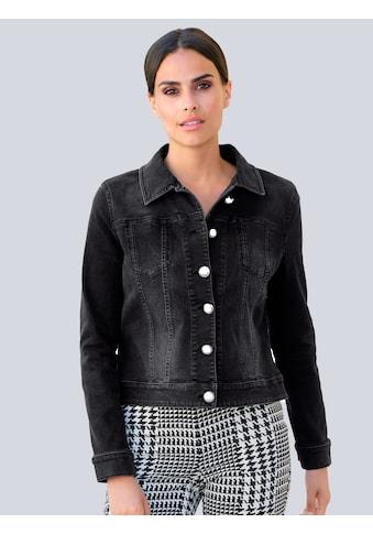 Alba Moda Jeansjacke, in modischer Boxy-Form kaufen