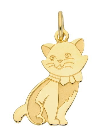 Adelia´s Kettenanhänger »333 Gold Anhänger Katze«, Goldschmuck für Damen kaufen