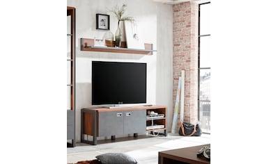 Home affaire Lowboard »Detroit«, Breite 160 cm, im angesagten Industrial Look kaufen