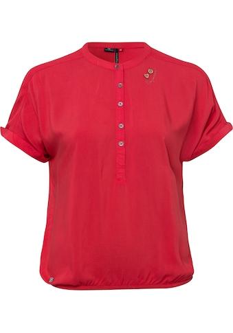 Ragwear Shirttop »RICOTA«, mit holzfarbigen Zierknopfbesatz kaufen