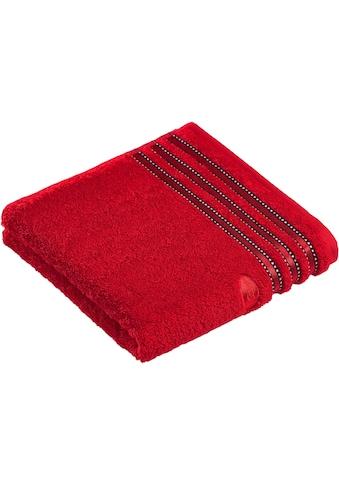 Vossen Handtücher »Cult de Luxe«, (2 St.), mit Glanzbordüre kaufen