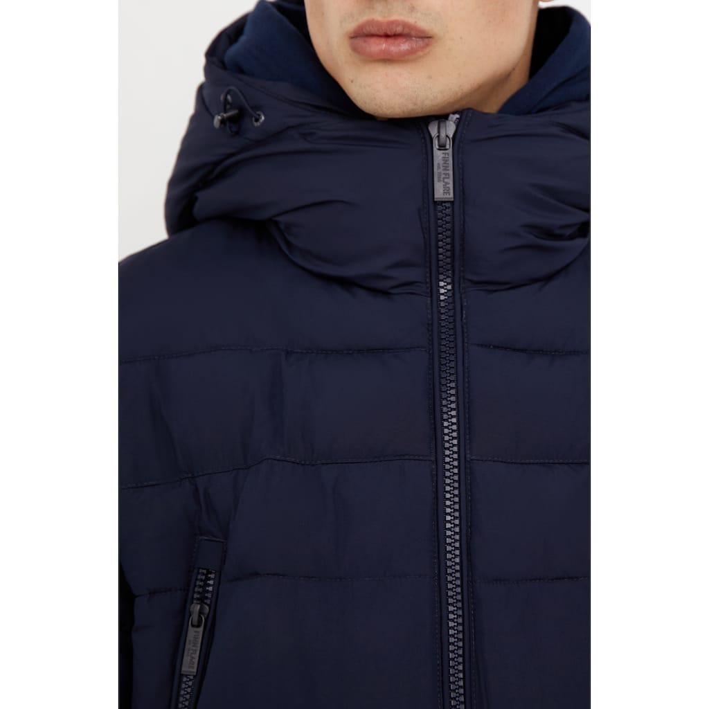 Finn Flare Daunenmantel, mit funktionalen Taschen