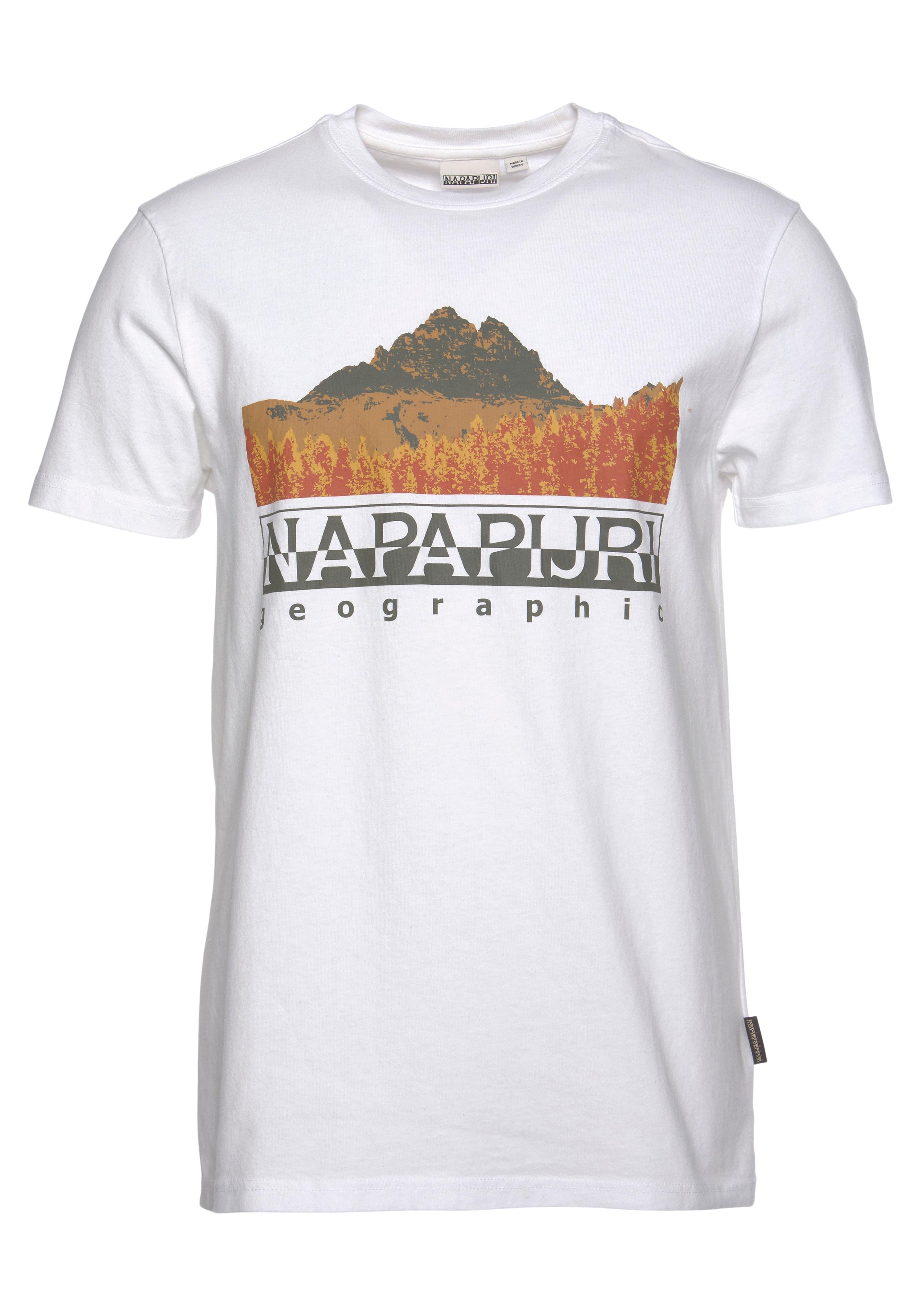 napapijri -  T-Shirt SETT SS, mit Frontprint