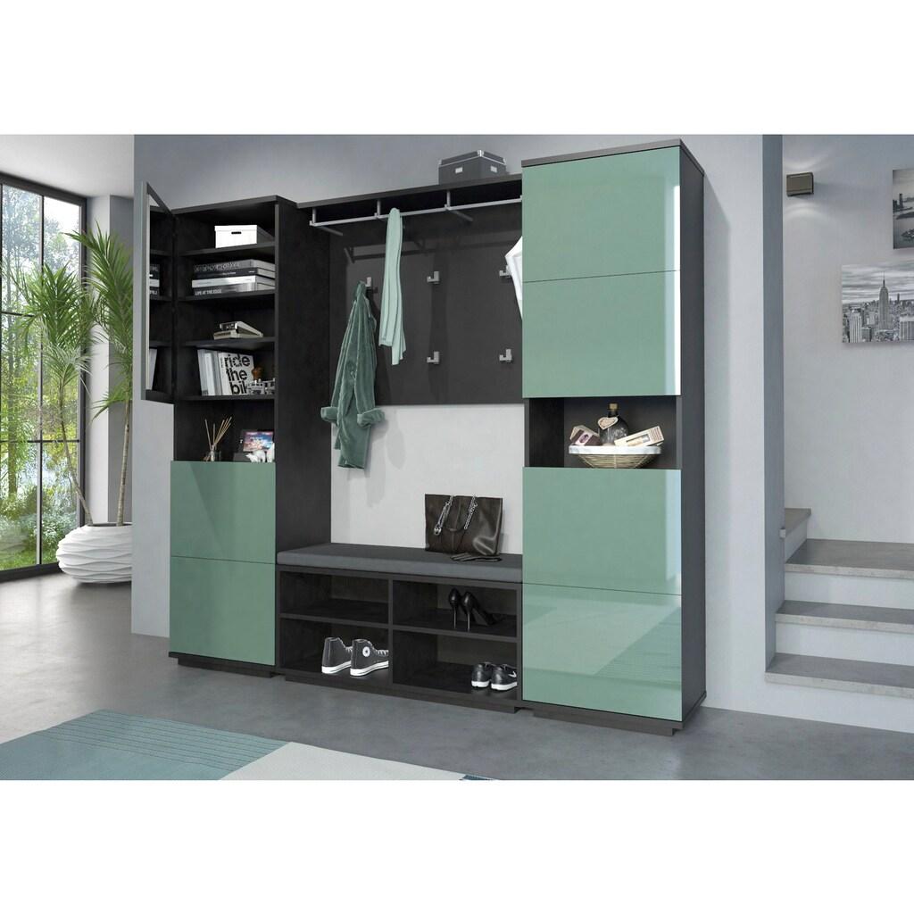 Maja Möbel Garderobenpaneel »ALEA«, 1 Kleiderstange,4 Kleiderhaken, 6 doppel Kleiderhaken