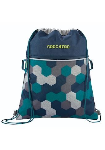 "Coocazoo Sportbeutel ""RocketPocket2"", Blue Geometric Melange kaufen"