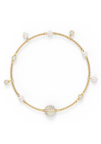 Swarovski Armband »Swarovski Remix Collection Delicate Pearl Strand, weiss, vergoldet, 5556904, 5572079« kaufen