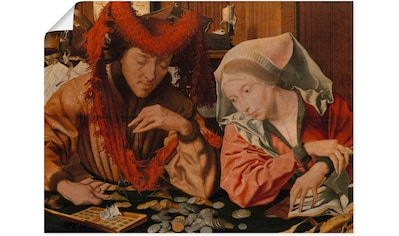 Artland Wandbild »Ein Steuereinnehmer mit seiner Frau« kaufen